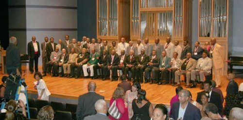 The inaugural class of inductees into Gibbs Junior College Hall of Fame