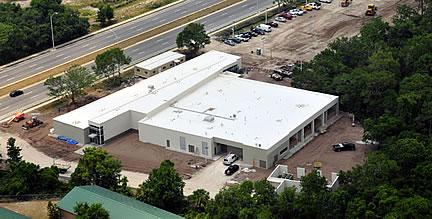 Vet Tech building