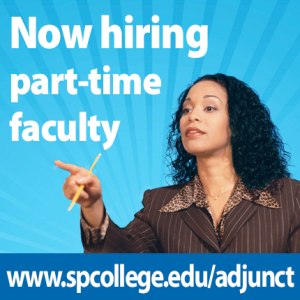 Now hiring part-time faculty