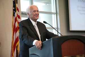 U.S. Rep. C.W. Bill Young at the dedication of the Institute for Strategic Policy Solutions at St. Petersburg College in 2011.