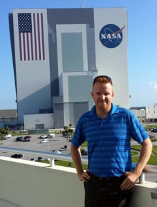 Tait Sorenson at his NASA internship