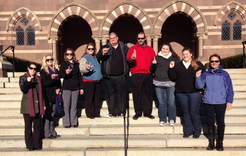 SPC Sign Language Students visit Gallaudet University in D.C.
