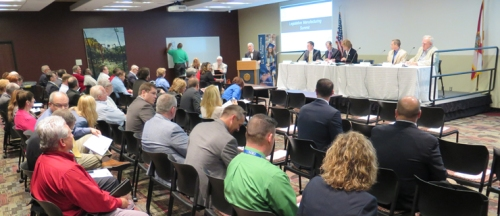 More than 80 representatives from the local manufacturing industry and related organizations attended the summit on Feb. 25 at the St. Petersburg College Clearwater Campus.