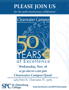 Clearwater 50th Anniversary