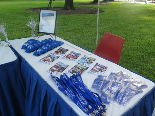 SPC table at SPC Clearwater East Community Library groundbreaking