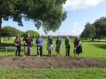 Groundbreaking shovels at SPC Clearwater East Community Library groundbreaking