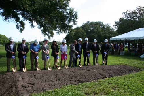 SPC Clearwater East Community Library groundbreaking ceremony