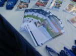 Pamphlets at SPC Clearwater East Community Library Groundbreaking
