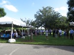 Crowd at groundbreaking for SPC Clearwater East Community Library