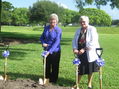 Groundbreaking at SPC Clearwater East Community Library
