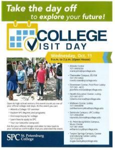 SPC College Visit Day
