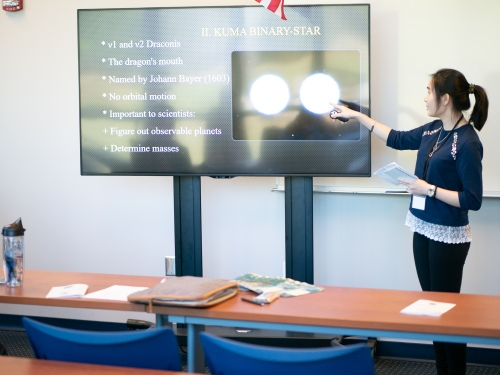 Honors research conference presentation