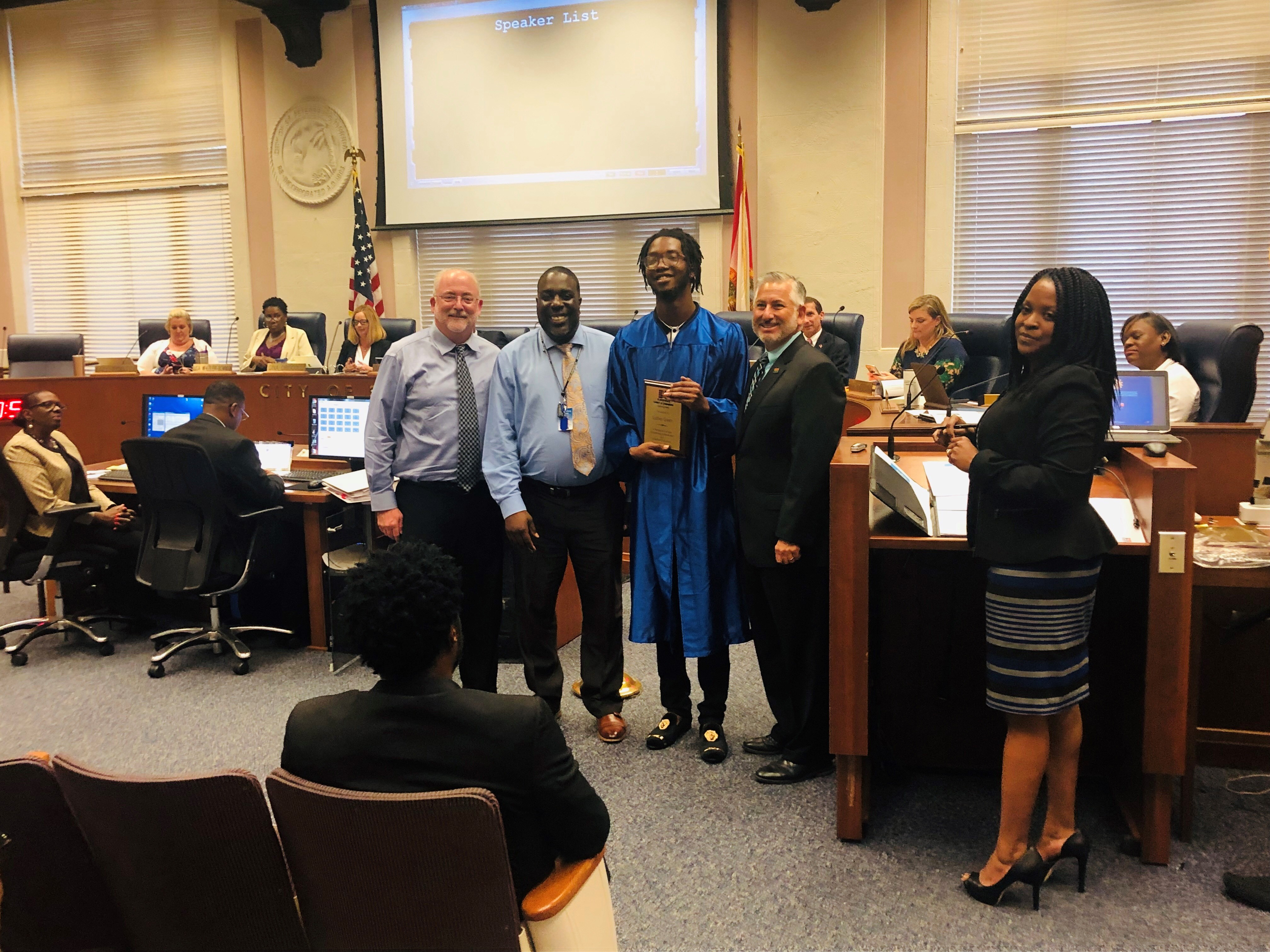 SPC students recognized at City Council meeting | St
