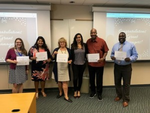 Grant managers recognized
